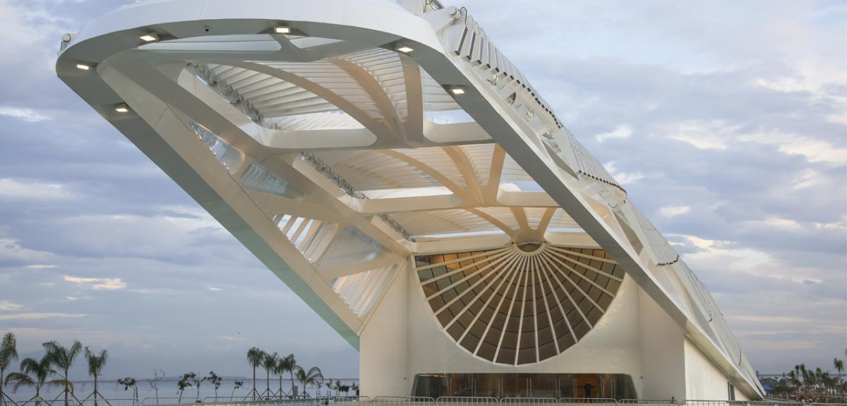 Entrada do Museu do Amanhã, no Rio / Foto: Bernard Lessa