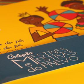 Paço do Frevo lança Coleção de Livros / Crédito: Luiz Santos